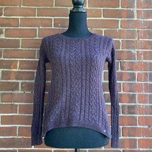 American eagle sweater with side zip detail